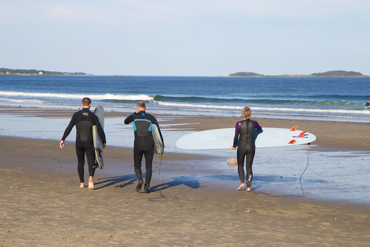 Adult Surf Camp in Scarborough, Maine