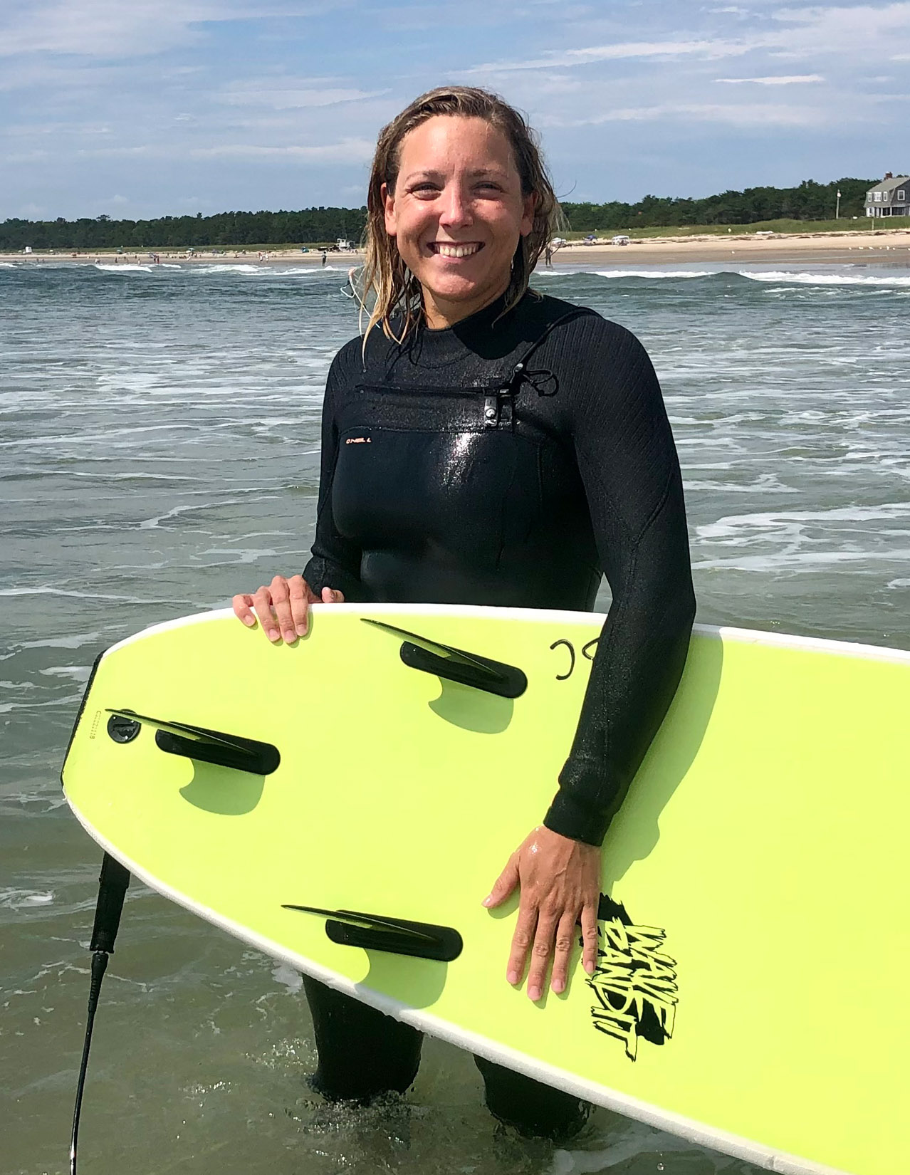 Christine Roberts of Surf Camp