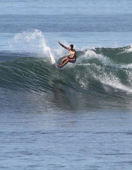 Sawyer Theriault of Surf Camp