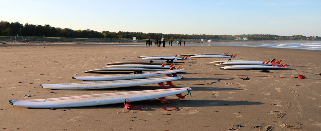 Surfboards on Scarborough Beach