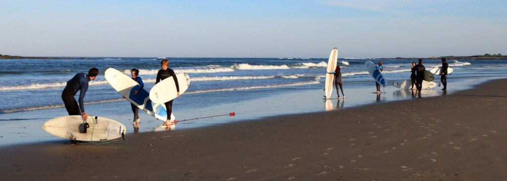Good waves for learning to surf