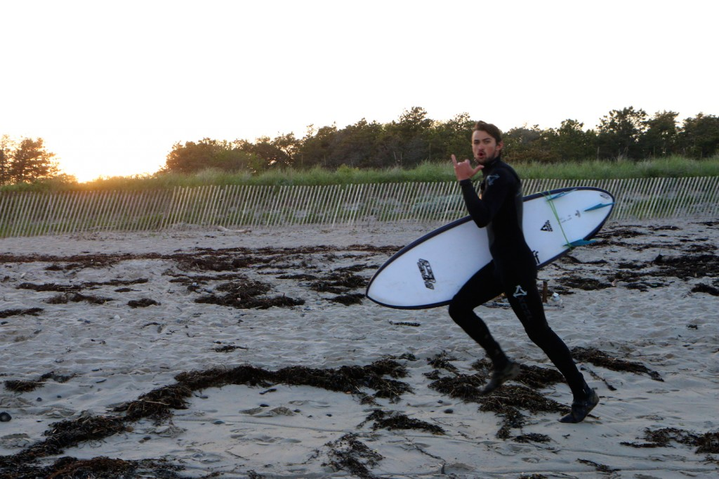 Stoked to get out and surf!