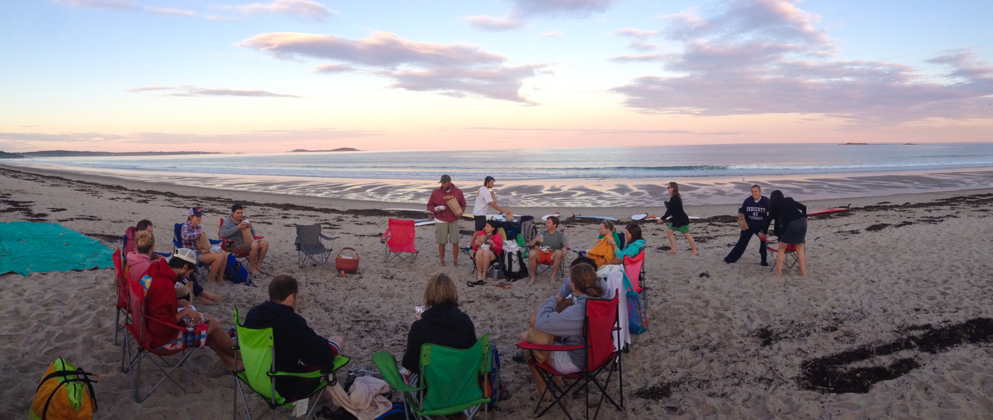 Adult Surf Camp, Scarborough Beach, Maine