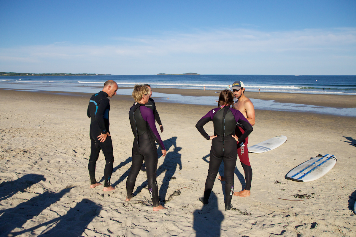 Our surf lessons offer the in depth instruction from experienced, professional instructors.