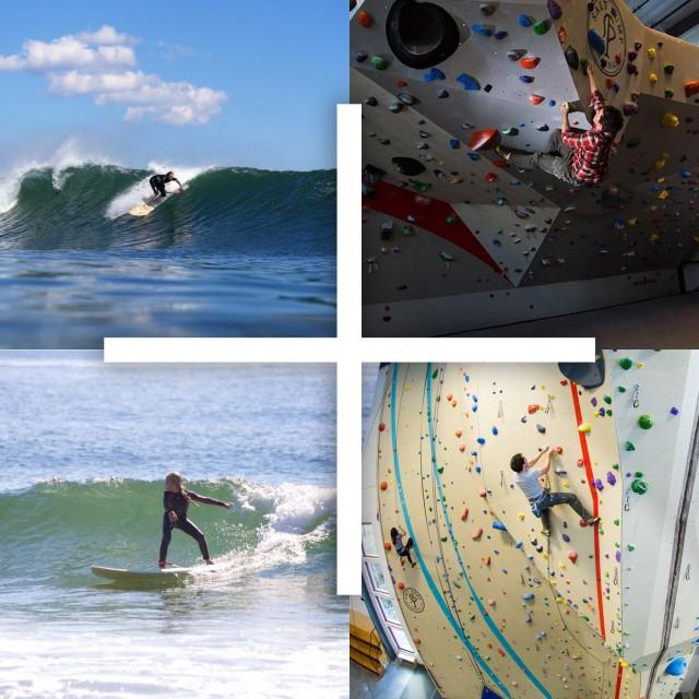 Surf + Climb Camp